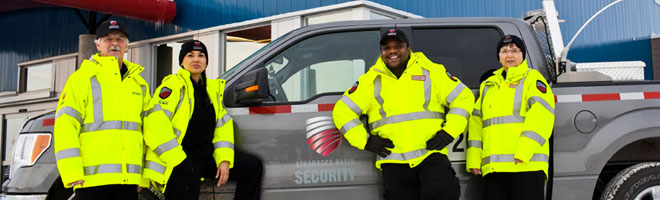 Athabasca Basin Security mobile patrol